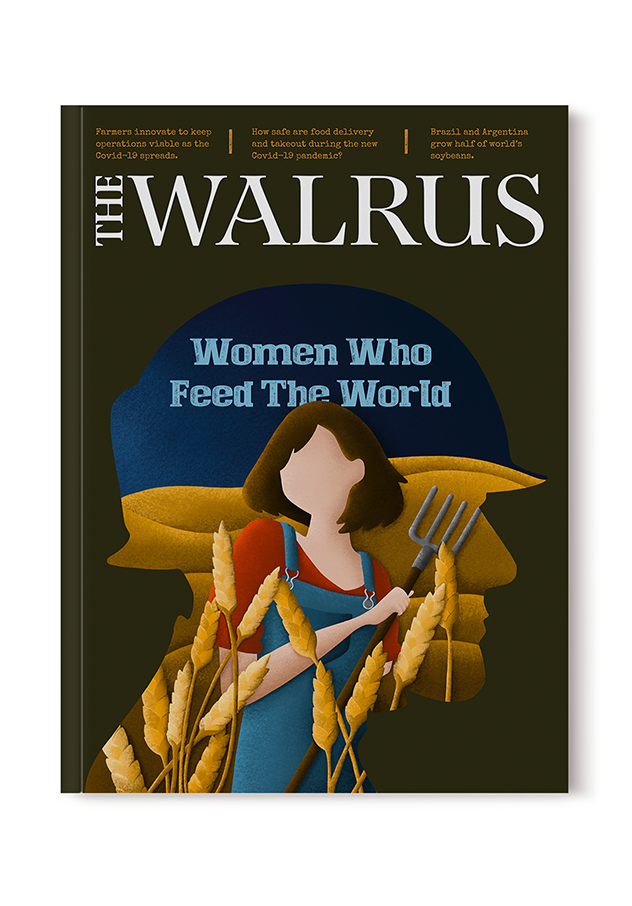 image of The Walrus magazine cover